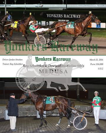 20160325 Race 11- Dewycolorintheline