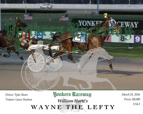 20160325 Race 1- Wayne The Lefty