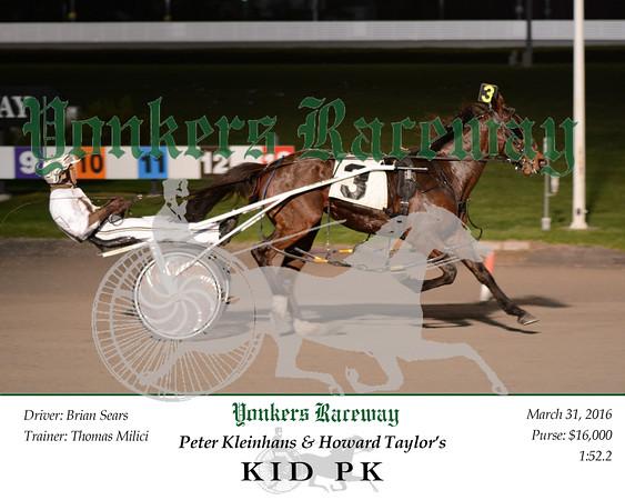 20160331 Race 9- Kid PK