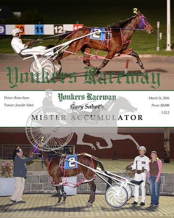 20160331 Race 4- Mister Accumulator