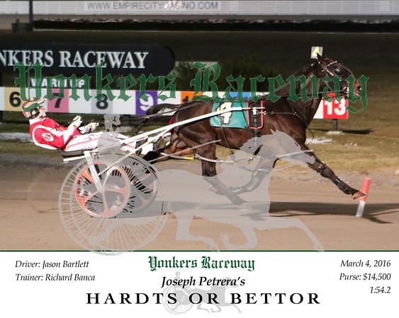 20160304 Race 10- Hardts Or Bettor