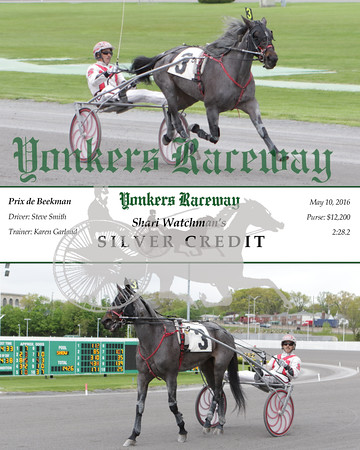 20160510 Race 10- Silver Credit
