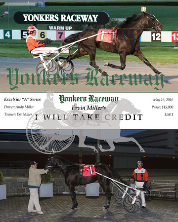 20160516 Race 4- I Will Take Credit