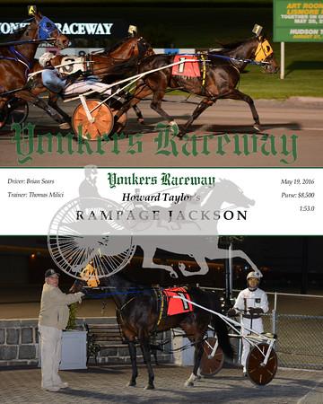 20160519 Race 5- Rampage Jackson