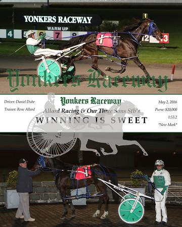 20160502 Race 9- Winning Is Sweet