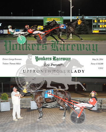 05262016 Race 6- Upfrontwhosurlady