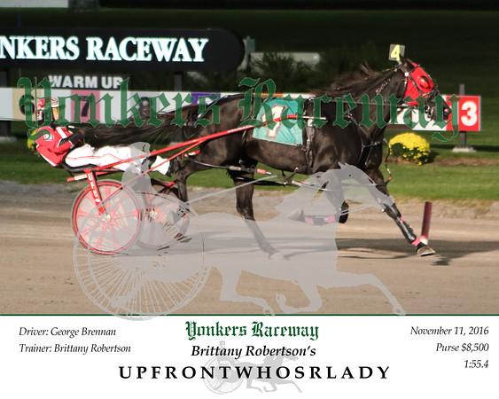 20161111 Race 2- Upfrontwhosurlady