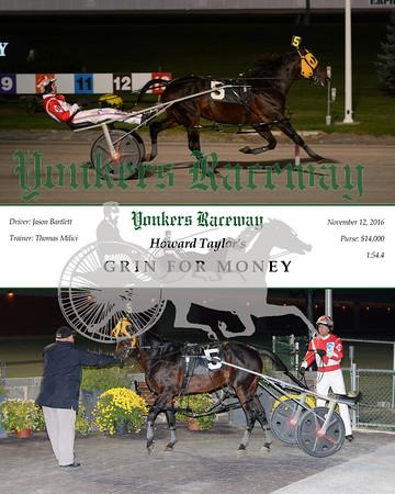 20161112 Race 1- Grin For Money