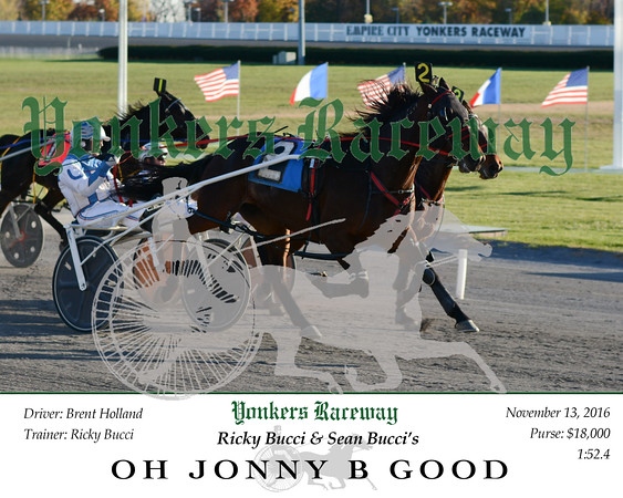 20161113 Race 10- Oh Jonny B Good N