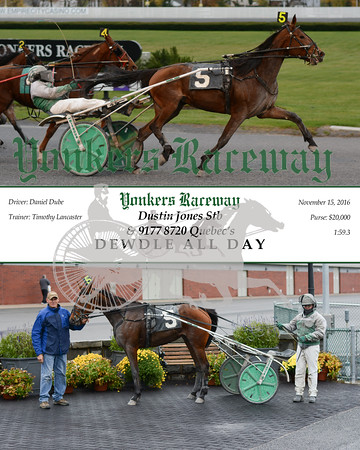 20161115 Race 5- Dewdle All Day