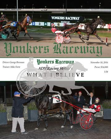 20161118 Race 6- What I Believe