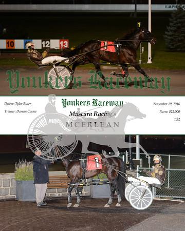 20161119 Race 9- Mcerlean