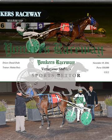 20161119 Race 2- Sports Bettor