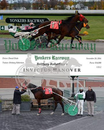 20161120 Race 9- Invictus Hanover