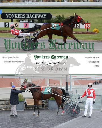 20161120 Race 5- Sim Brown