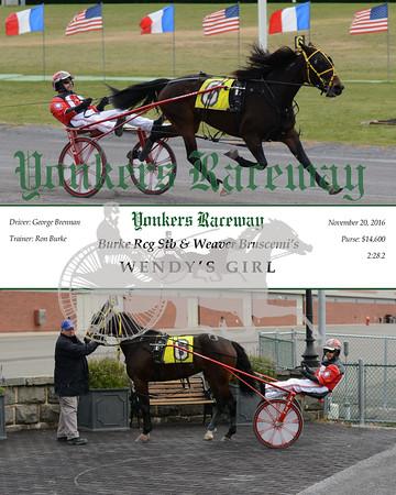 20161120 Race 4- Wendy's Girl