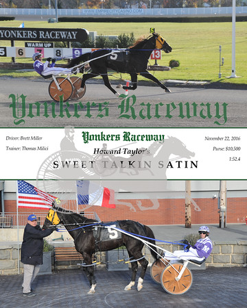 11222016 Race 5-Sweet Talkin Satin