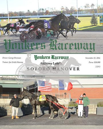 11222016 Race 6-Soboro Hanover
