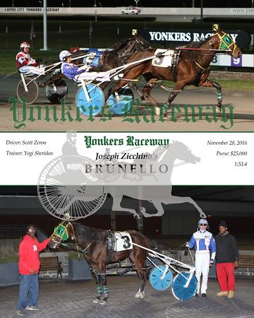 20161128 Race 9- Brunello N