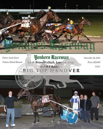 20161128 Race 8- Big Top Hanover