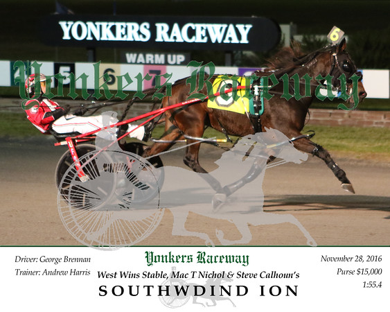 20161128 Race 1- Southwind Ion 2