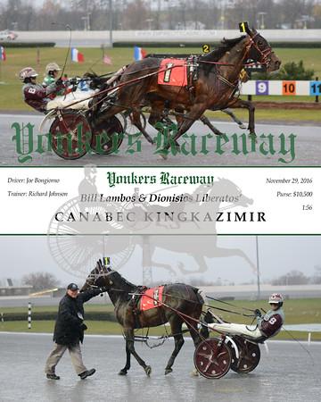 20161129 Race 5- Canabec Kingkazimir