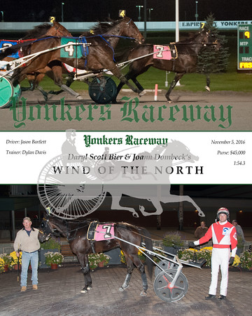 2016105 Race 9- Wind Of The North