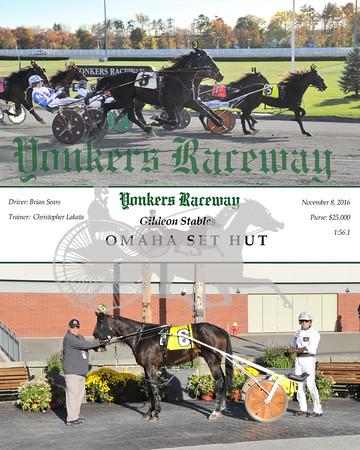 11082016 Race 6-Omaha Set Hut