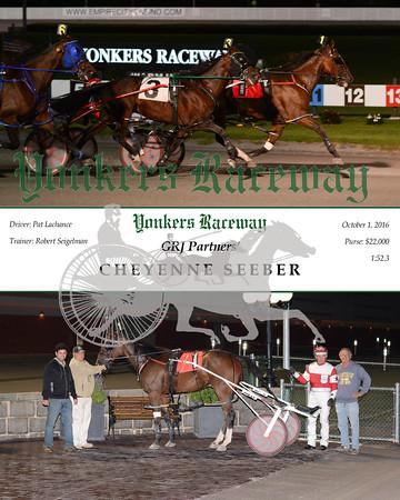 20161001 Race 5- Cheyenne Seeber