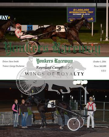 20161001 Race 6- Wings of Royalty