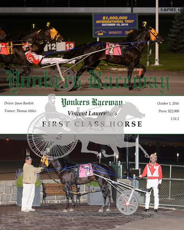 20161001 Race 10- First Class Horse