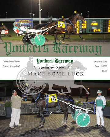 20161001 Race 3- Make Some Luck
