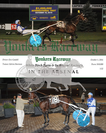 20161001 Race 2-In The Arsenal