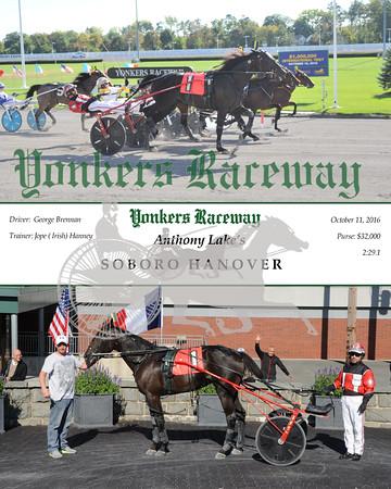 10112016 Race 7-Soboro Hanover