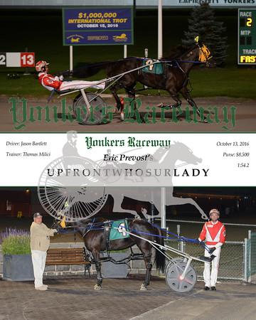 20161013 Race 2- Upfrontwhosurlady