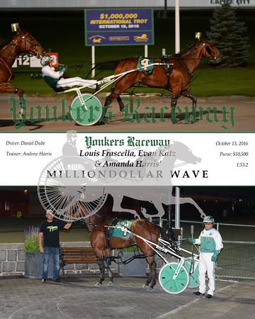 20161013 Race 7- Milliondollar Wave
