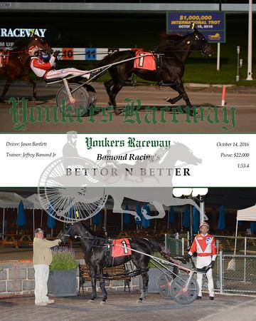 20161014 Race 12- Bettor N Better