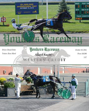 20161018 Race 3- Western Credit