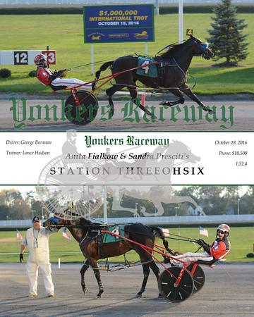 20161018 Race 12- Station Threeohsix