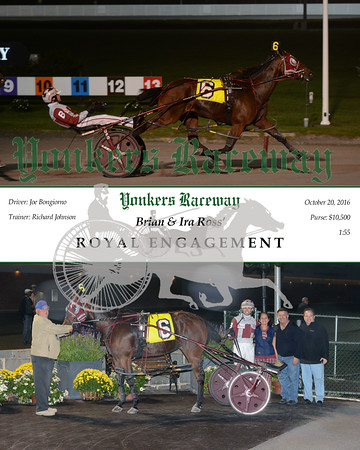20161020 Race 5- Royal Engagement