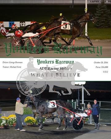 20161020 Race 9- What I Believe