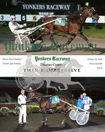 20161022 Race 4- Twin B Impressive