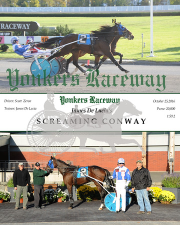 10252016 Race 11-Screaming Conway