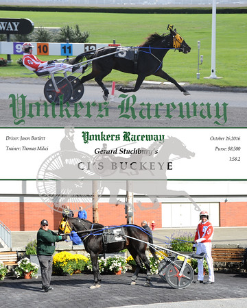 10252016 Race 2-Ci's Buckeye
