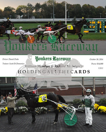 20161030 Race 9- Holdingallthecards