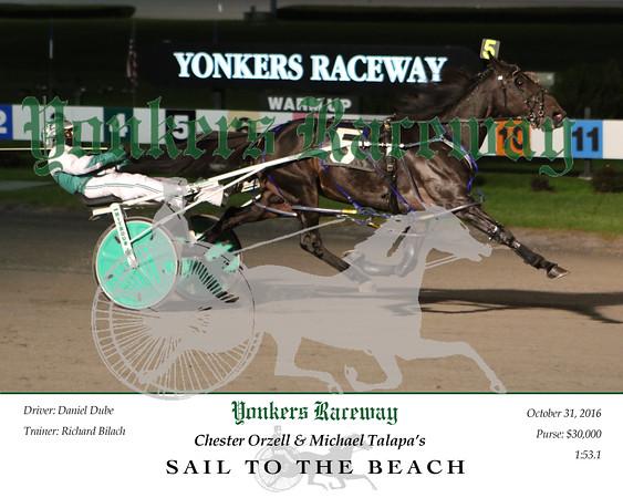 20161031 Race 9- Sail To The Beach