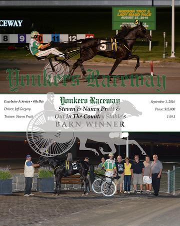 20160901 Race 5- Barn Winner
