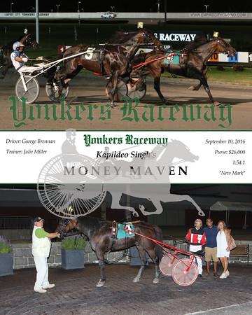 20160910 Race 11- Money Maven
