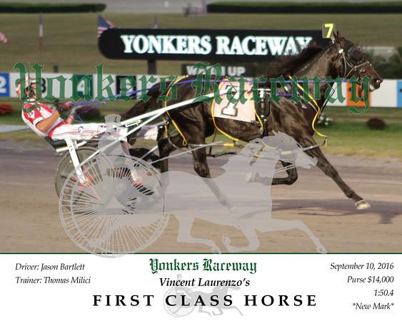 20160910 Race 1- First Class Horse