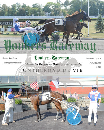 20160913 Race 8- Ontheroad De Vie
